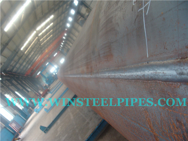 LSAW steel pipe weld seam is straight