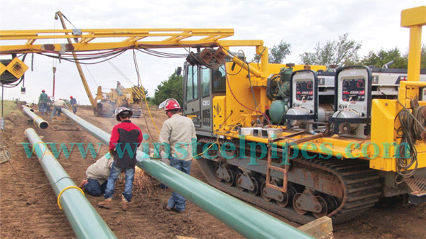 Usage of Longitudinal submerged arc welded pipe