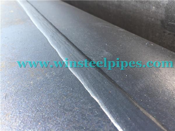 longitudinal submerged arc welded pipe seam