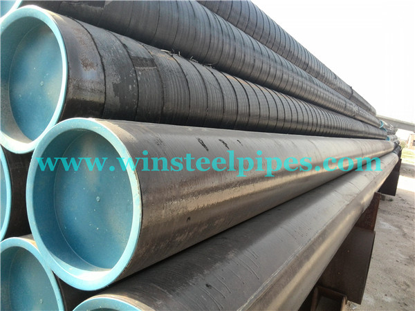 16 inch steel pipe with plastic end protector