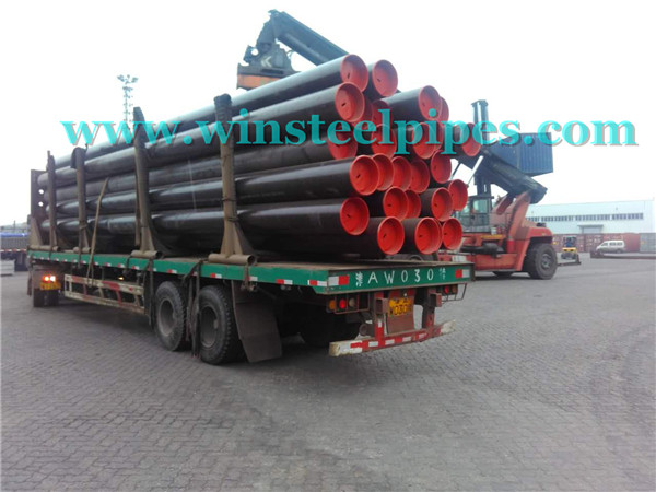 20 inch steel pipe with plastic end protector