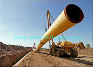 EN 10219 P235JH lsaw pipe project in Australia