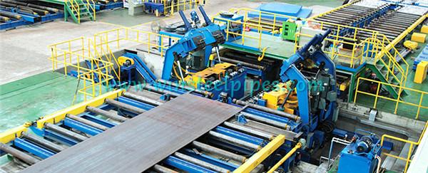 lsaw pipe equipment-Edge Milling Machine