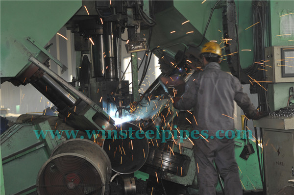 Equipment of api 5l lsaw steel pipe factory