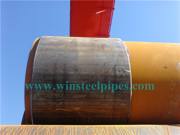 LSAW steel pipe boots