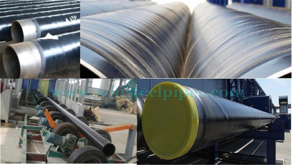 3PE coated steel pipe
