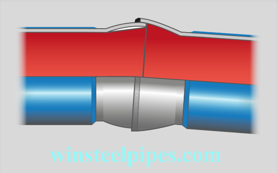 Spherical Socket tube with air chamber