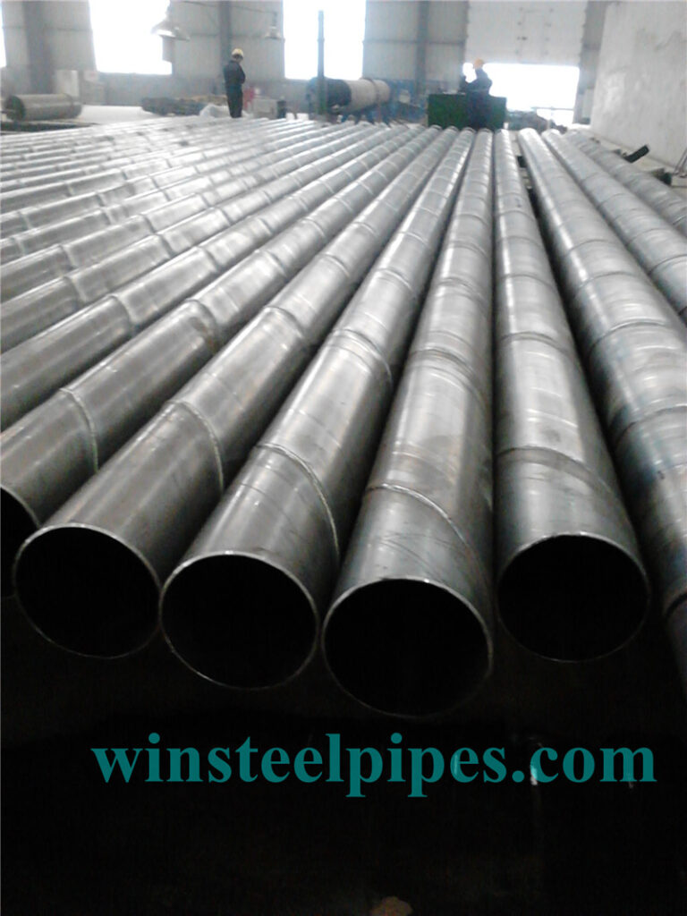 219.1mm SSAW Steel Pipe