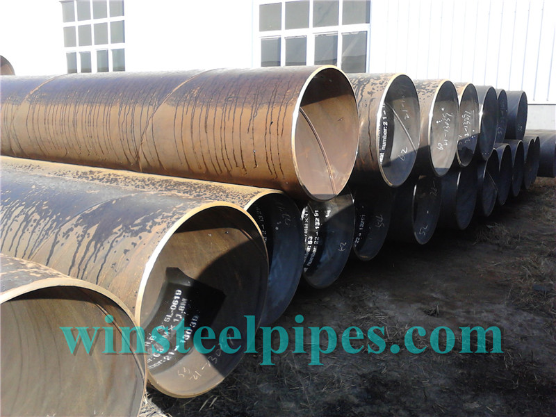 609.6mm SSAW Steel Pipe