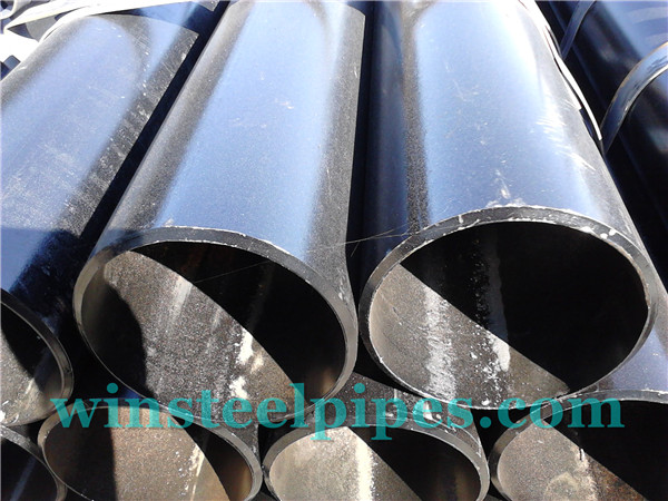 6-inch ERW Steel Pipe With Black vanished